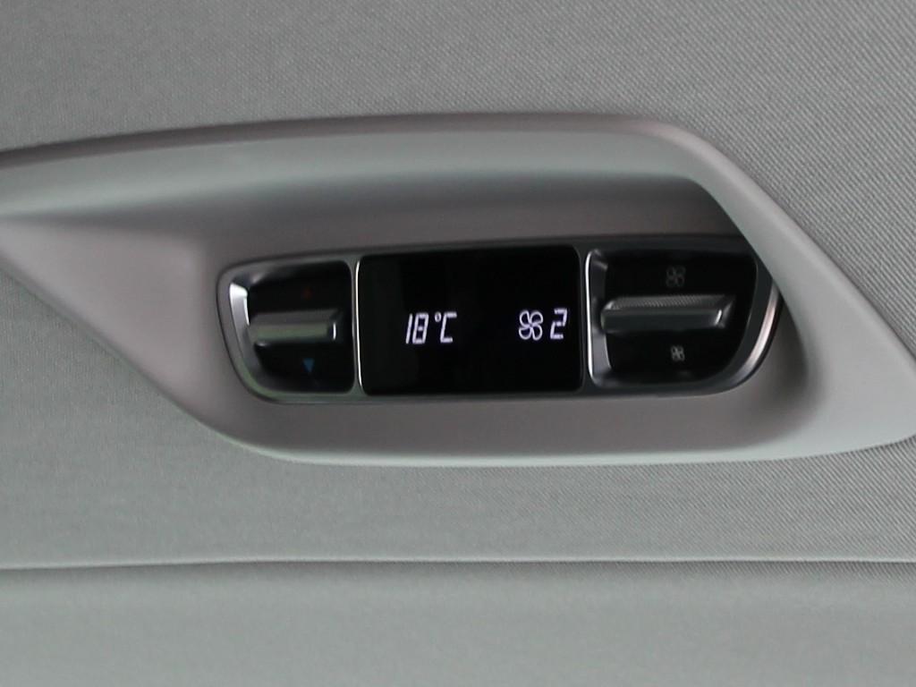 V-Klasse Temperaturregelung Fond
